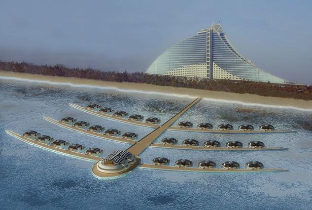Solar Floating Resort Concept 18