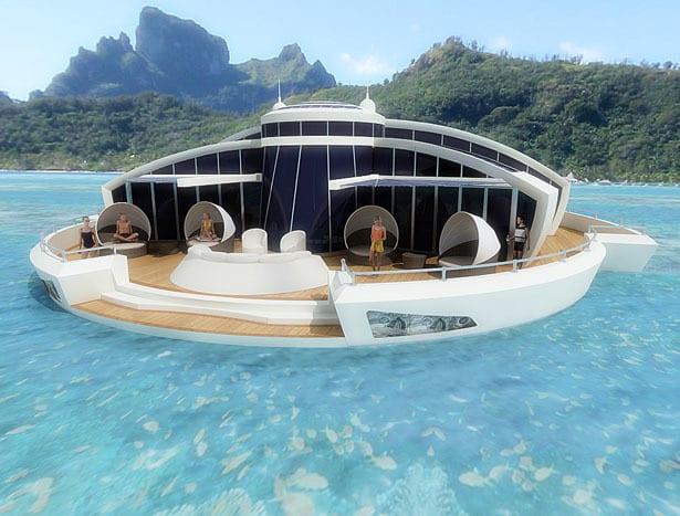Solar Floating Resort Concept 2