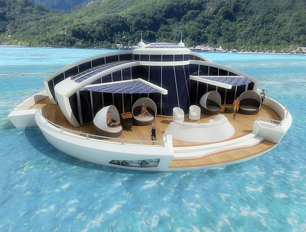 Solar Floating Resort Concept 3