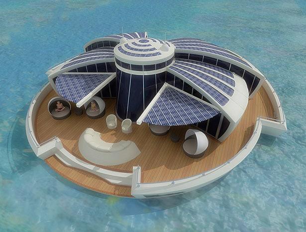 Solar Floating Resort Concept 4