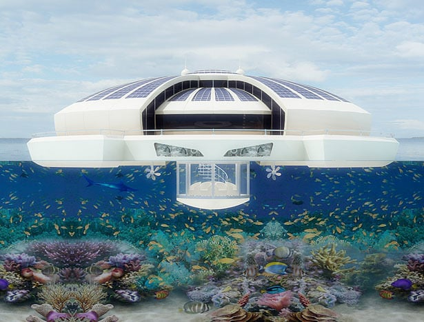 Solar Floating Resort Concept 6