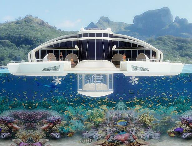 Solar Floating Resort Concept 7