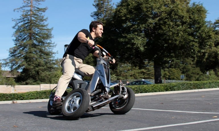 Three wheel bikes from sway motorsports cost around 10k for How much does a motor scooter cost