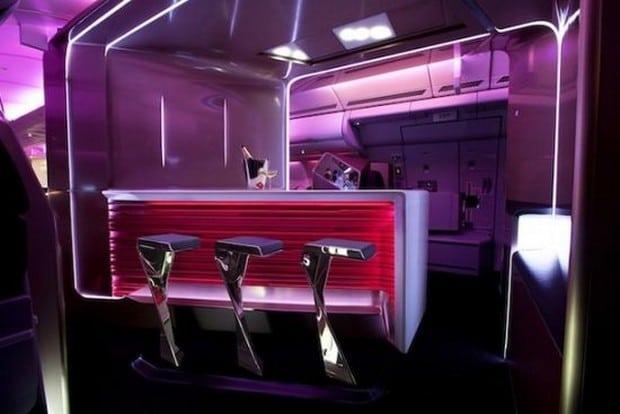 Virgin Atlantic upper class suite 2