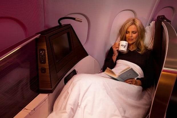 Virgin Atlantic upper class suite 3