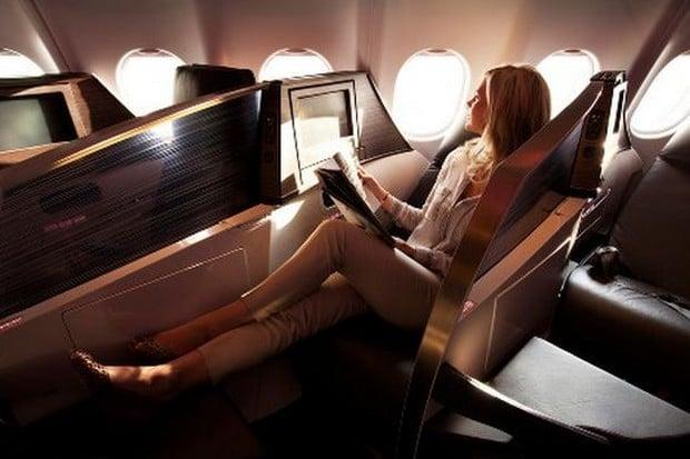Virgin Atlantic upper class suite 4