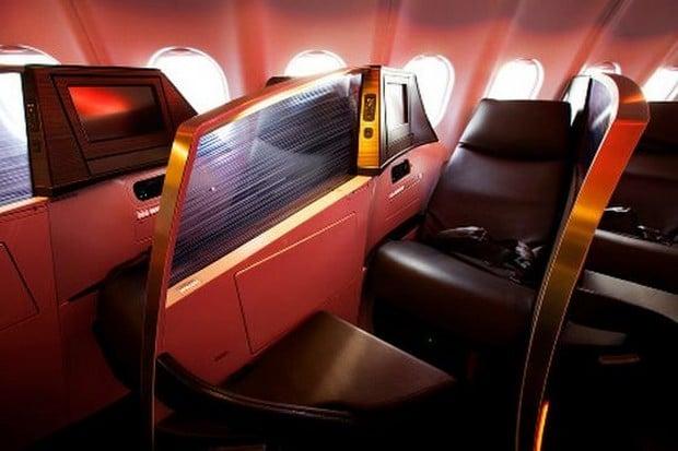 Virgin Atlantic upper class suite 5