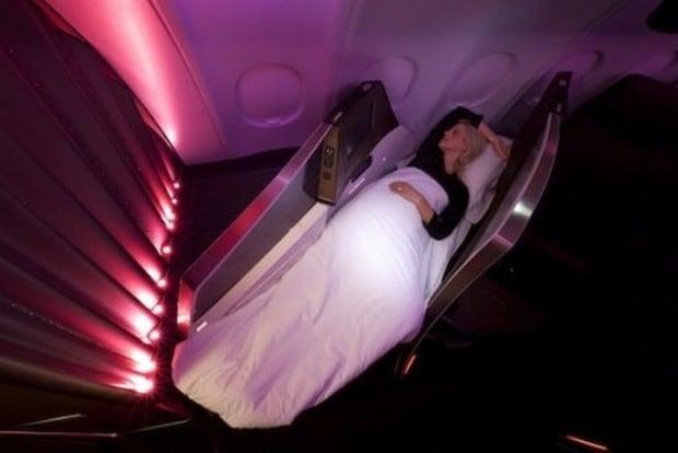 Virgin Atlantic upper class suite 6