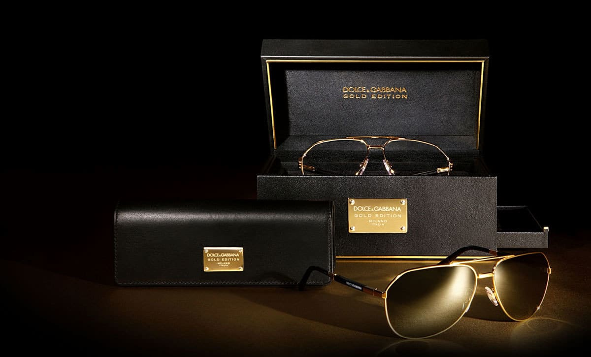 reliable quality discount sale shop for genuine Dolce & Gabbana Unveils Gold Edition Eyewear