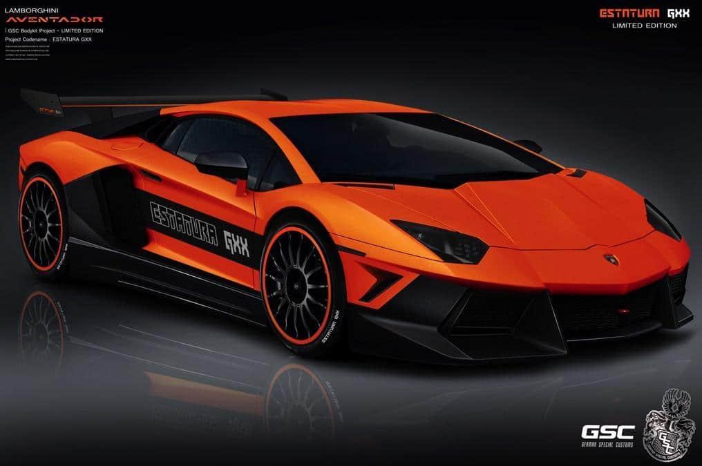 Lamborghini Aventador Estatura Gxx By German Special Customs