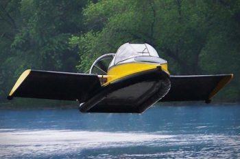 Hammacher Schlemmer Flying Hovercraft 1