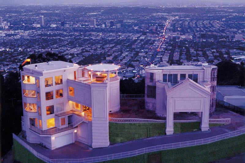 One of the safest homes ever built priced at 5 8 million for Luxury homes in hollywood hills