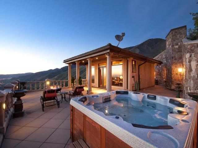 Mountaintop Mansion In Salt Lake City Utah For Sale