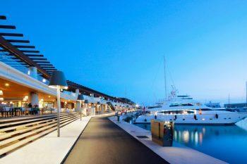 Port Adriano marina by Philippe Starck 1