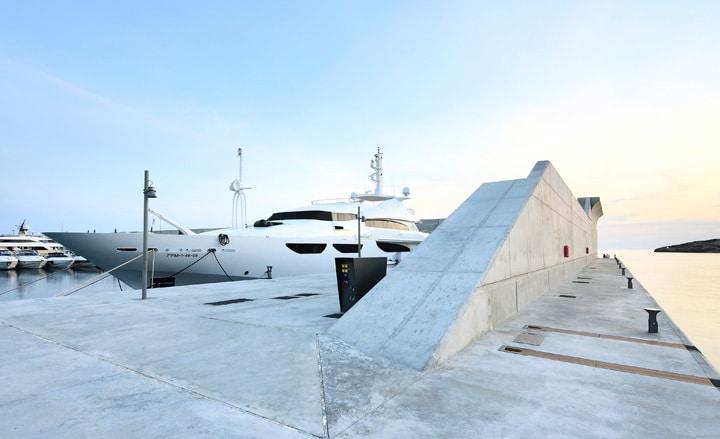 Port Adriano marina by Philippe Starck 7