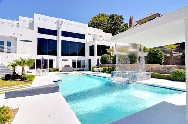 Luxurious Waterfall Mansion In Dallas Texas For Sale