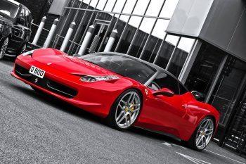 Ferrari 458 Italia Coupe Kahn Design 1