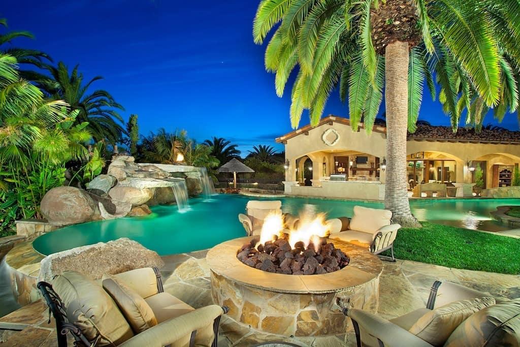 Grand Roxbury villa in California, on sale for $11 4M