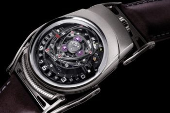 ZR012 Watch by Urwerk, MB&F and Eric Giroud 1