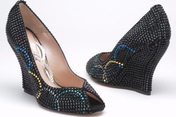 Olympic inspired shoes by Aruna Seth 1