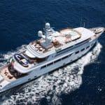 Charter yacht Baron Trenck 1