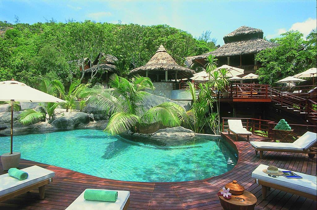 The constance lemuria resort in praslin seychelles - Vacances de luxe laucala resort island ...