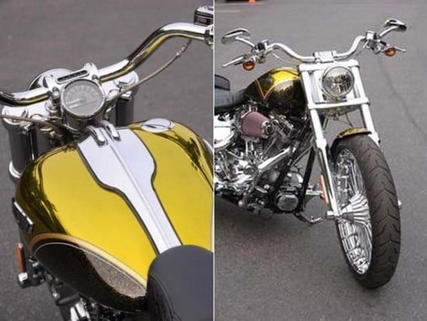Harley Davidson Breakout Cvo In Pagan Gold on Best Harley Ignition
