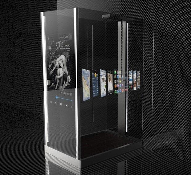 Smart Media Shower concept 1