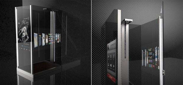Smart Media Shower concept 6