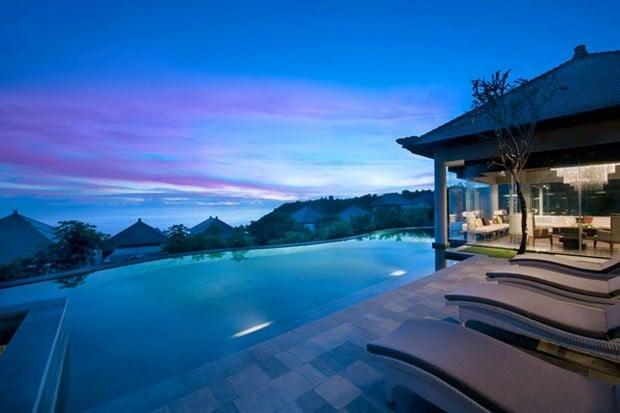The Banyan Tree Ungasan Resort In Bali Indonesia