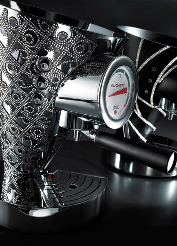 Bugatti Individual Kitchen Appliances with Swarovski Crystals