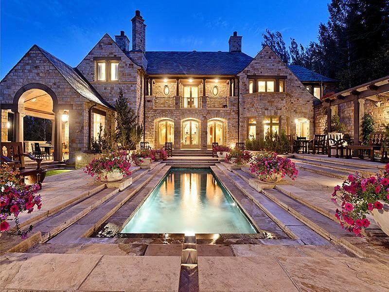 Rielle Hunter Hideaway Mansion In Aspen For Sale