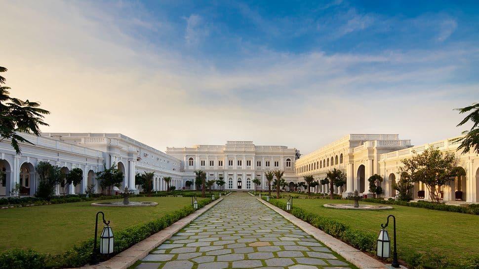 The Taj Falaknuma Palace In Hyderabad, India. The ...