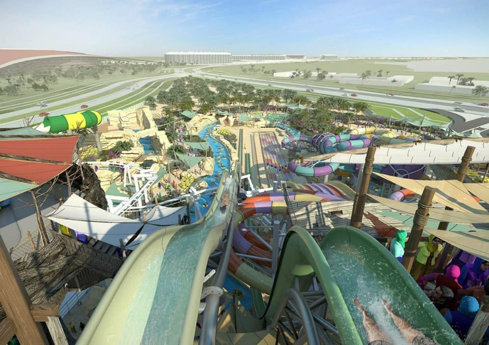 Yas Waterworld In Abu Dhabi Will Open In December 2012