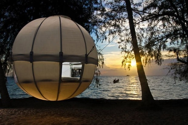 Good The Cocoon Tree Tent Is One Part Tent, One Part Hammock Amazing Design