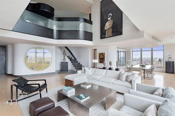 Exclusive duplex penthouse in new york for sale for Nyc duplex for sale
