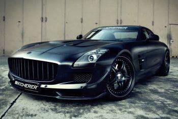 Kicherer Mercedes SLS AMG Supercharged GT 1