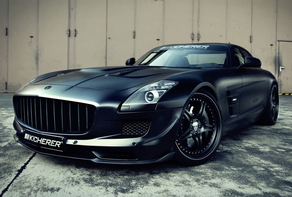 kicherer mercedes sls amg supercharged gt. Black Bedroom Furniture Sets. Home Design Ideas