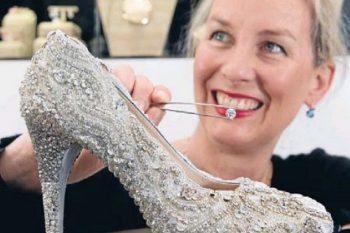 Most expensive diamond shoe 1