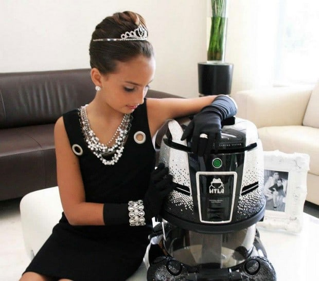 Swarovski Encrusted Hyla Gst Vacuum Cleaner