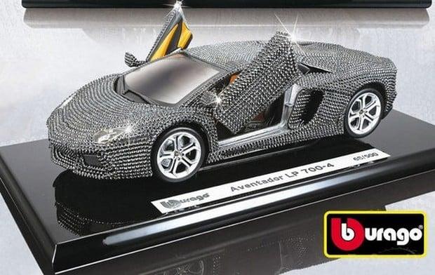 Swarovski Lamborghini Aventador Lp 700 4 Model Car