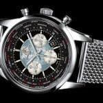 David Beckham Breitling Transocean Chronograph Unitime 3
