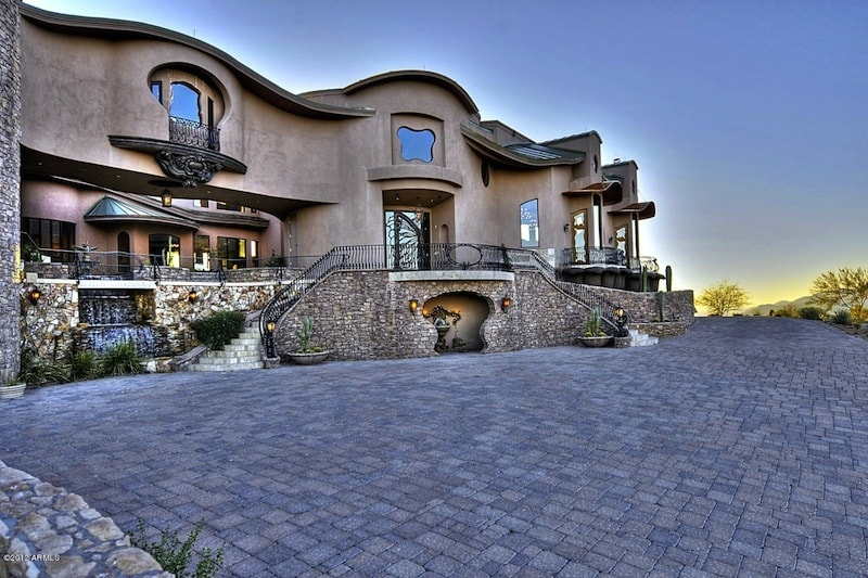 Opulent estate in fountain hills arizona for sale for Mansions for sale in scottsdale az
