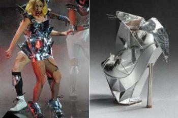 Lady Gaga's Emporio Armani shoe 1