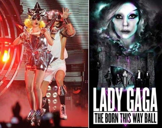 Lady Gaga's Emporio Armani shoe 2