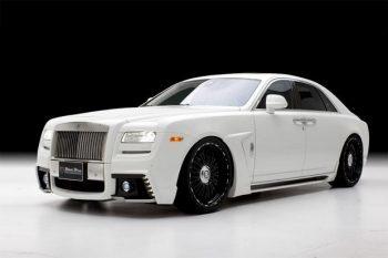Wald International's Rolls-Royce Ghost Black Bison 1