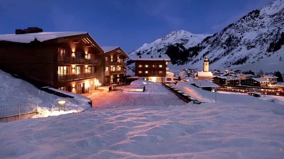 One Of Austria S Most Stylish Ski Lodges Aurelio Lech