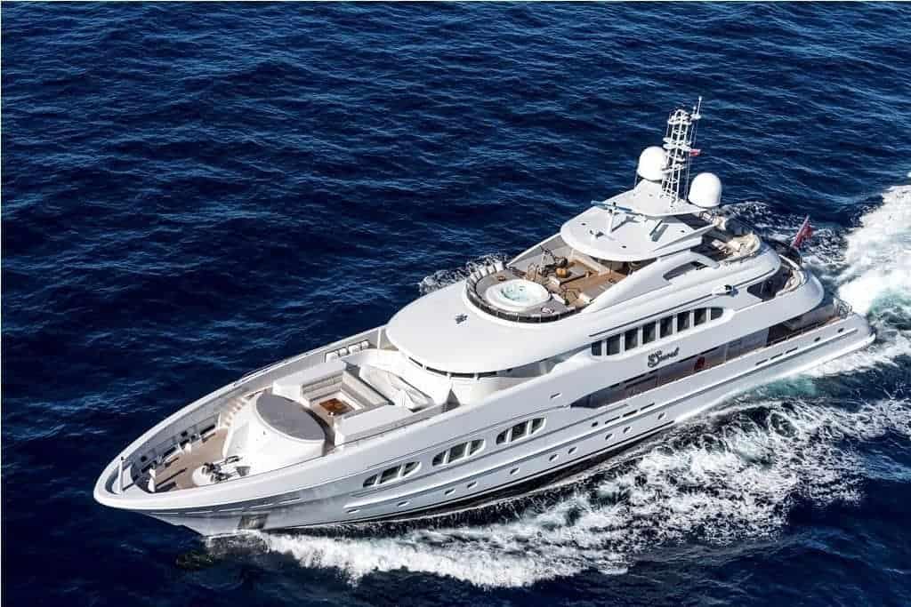 The 46 7 metre My Secret from Heesen Yachts