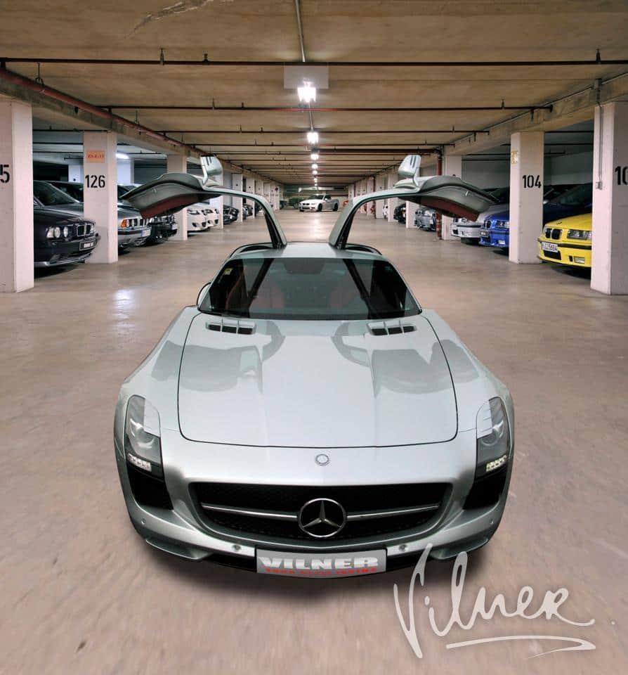 Vilner refines the interior of the Mercedes SLS AMG