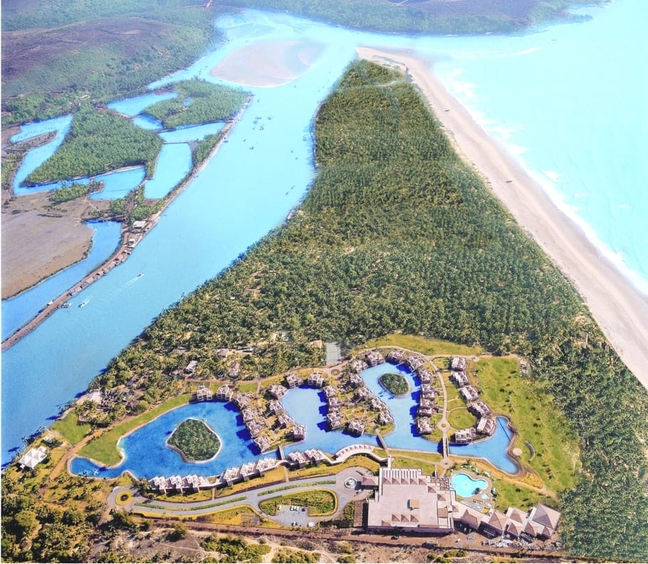 The Relaxing Leela Goa Resort In India